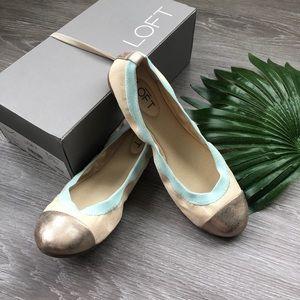 New in Box LOFT Ballet Flats